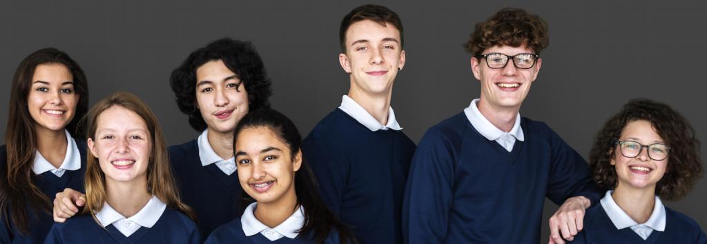 School group banner for website