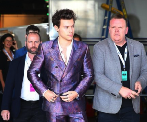Ash with Harry Styles and Matty